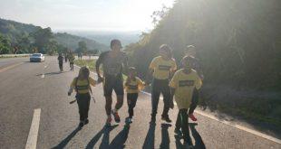 นายอำเภอยี่งอ  จัดกิจกรรมเดินวิ่งการกุศล พิชิตเขายือลาแป มีผู้สนใจร่วมเดินวิ่ง เกือบ 2000 คน  รายได้ช่วยเหลือ เด็กกำพร้าพื้นที่ชายแดนใต้
