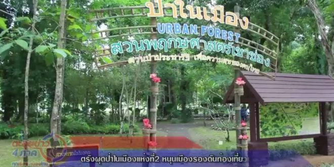 """""""ตรังผุดป่าในเมืองแห่งที่2 หนุนเมืองรองดันท่องเที่ยวเชิงอนุรักษ์"""""""