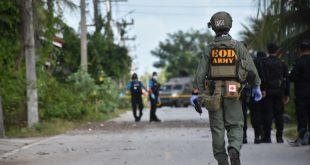 18 ม.ค.62 คนร้ายตอบโต้ต่อเนื่อง ลอบวางระเบิดตำรวจเจ็บ 2 นาย ..มีคลิป..