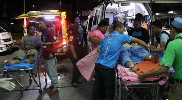 ป่วนใต้ !! คนร้ายระเบิด และ เผา หลายจุด 5 อำเภอของ จ.ยะลา  ชาวบ้านเจ็บ
