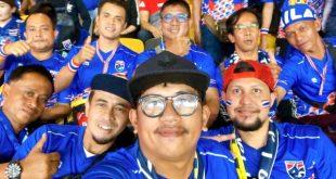 กองเชียร์ชาวไทย จาก 3 จชต. มุ่งหน้าสู่สนามบูกิต จาลิล ประเทศมาเลเซีย เชียร์ทีมชาติไทยในศึกฟุตบอลโลก 2022 รอบคัดเลือก โซนเอเชีย กลุ่มจี นัดที่ 4