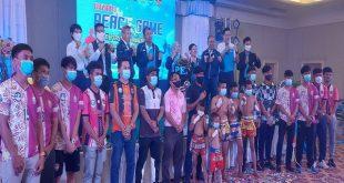 แถลงยิ่งใหญ่เตรียมจัด Peace Game 63 ส่งเสริมฟุตบอล และมวยไทย บนความหลากหลายของวัฒนธรรม สานสัมพันธ์ชายแดนภาคใต้