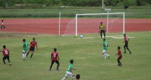ปัตตานี จัดการแข่งขันฟุตบอลลีกเยาวชนสู่อาชีพ 5 จังหวัดชายแดนภาคใต้ รุ่นอายุไม่เกิน 15 ปี ประจำปีงบประมาณ 2564 รอบคัดเลือกระดับจังหวัดปัตตานี
